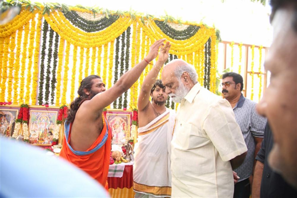 K Raghavendra Rao @ Ira Creations Production No 3 Movie Launch Stills