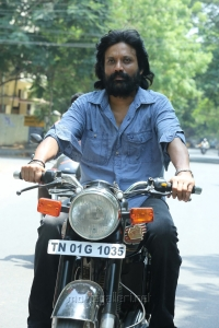 Actor SJ Suryah in Iraivi Movie Photos