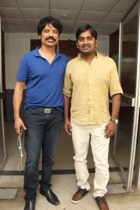 SJ Surya, Karunakaran @ Iraivi Movie Press Meet Photos