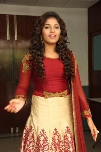 Anjali @ Iraivi Movie Press Meet Photos