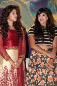 Anjali, Pooja Devariya @ Iraivi Movie Press Meet Photos