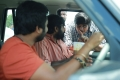 Bobby Simha, Vijay Sethupathi, Karthik Subbaraj @ Iraivi Movie Working Stills