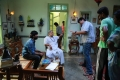 SJ Surya, Radha Ravi, Karthik Subbaraj @ Iraivi Movie Working Stills