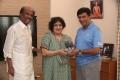 Rajinikanth, Latha, YG Mahendran @ Irandam Ragasiyam DVD Version Release Photos
