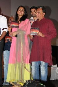 Anushka, Nassar at Irandam Ulagam Audio Launch Stills