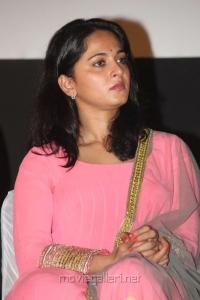 Actress Anushka Shetty at Irandam Ulagam Audio Launch Stills