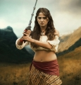 Actress Anushka Hot in Irandam Ulagam Movie Stills