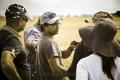 Director Selvaraghavan at Irandam Ulagam Shooting Spot Stills