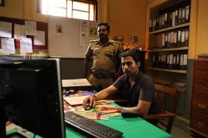 Actor Nandha in Iru Dhuruvam Web Series Images HD