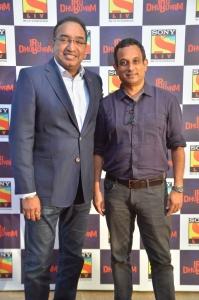 Sameer Nair, Pramod Cheruvalath @ Sony LIV Iru Dhuruvam Web-Series Launch Photos