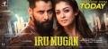 Vikram, Nayanthara in Iru Mugan Movie Release Posters