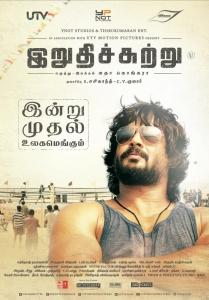 R.Madhavan in Irudhi Suttru Movie Release Posters