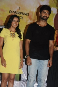 Priya Anand, Atharva, Lakshmi Rai @ Irumbu Kuthirai Movie Press Meet Stills