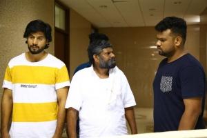 Kanja Karuppu in Irumbu Manithan Movie Stills