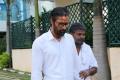 Santhosh Prathap, Kanja Karuppu in Irumbu Manithan Movie Stills