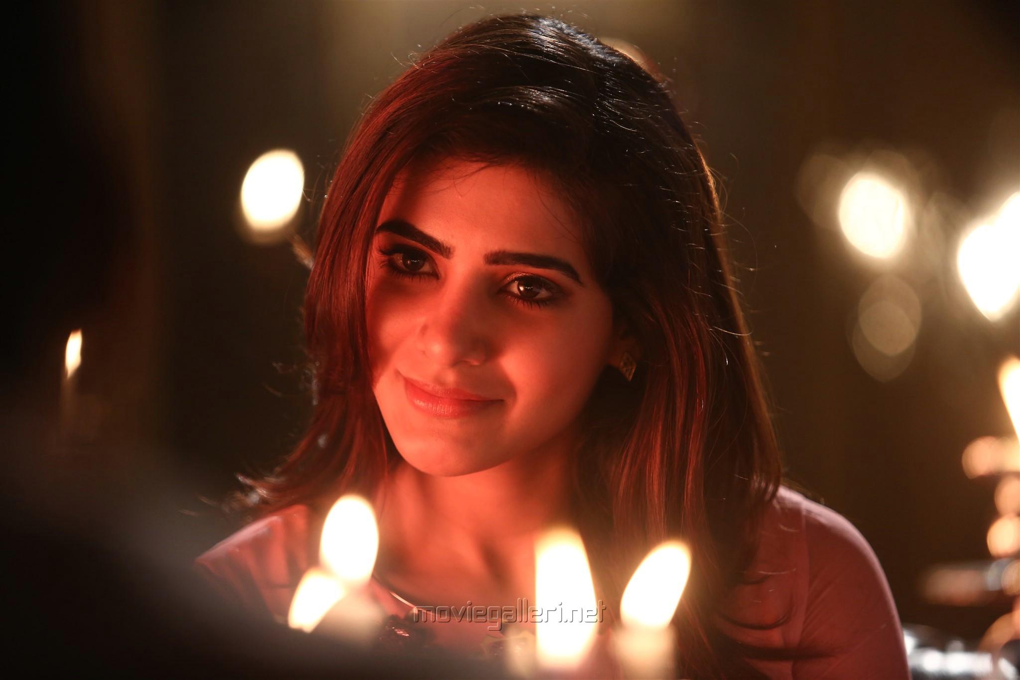 Heroine Samantha in Irumbu Thirai Movie Latest Photos HD