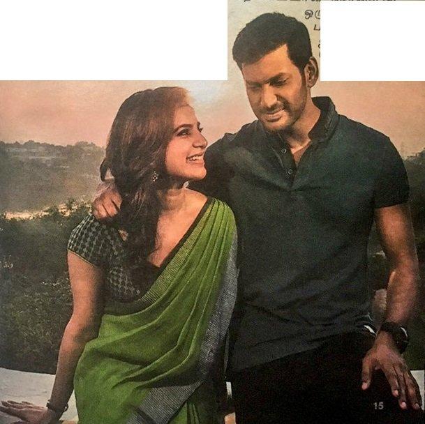 Irumbu Thirai Movie Stills Hd Vishal Samantha New Movie Posters