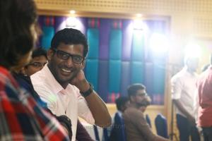 Vishal @ Irumbu Thirai Success Meet Stills
