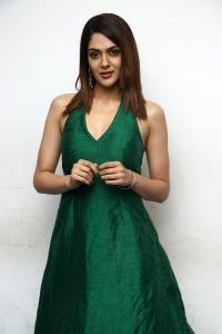 Iruttu Movie Actress Sakshi Chaudhary in Green Dress Photos