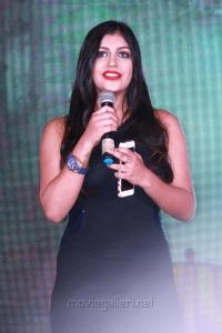 Actress Yaashika Aanand @ Iruttu Arayil Murattu Kuthu 2nd Single Launch Press Meet Stills