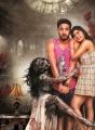 Chandrika Ravi, Gautham Karthik, Vaibhavi Shandilya in Iruttu Araiyil Murattu Kuthu Movie Stills HD
