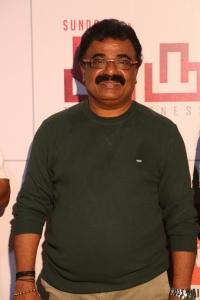 Actor VTV Ganesh @ Iruttu Movie Press Meet Stills