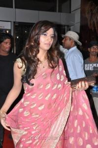 Isha Chawla in Saree at Srimannarayana Audio Release Function