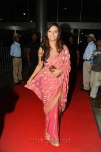 Beautiful Isha Chawla in Saree at Srimannarayana Audio Release
