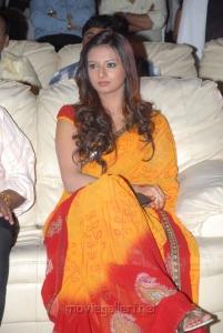Telugu Actress Isha Chawla in Beautiful Yellow Saree