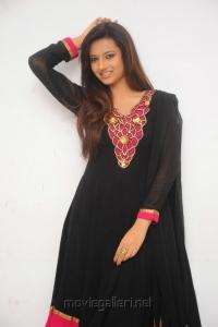 Beautiful Isha Chawla in Black Churidar Photoshoot Pics