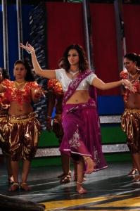 Actress Isha Chawla Hot in Pink Saree Stills