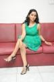 Actress Ishika Singh in Green Dress Hot Stills