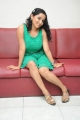 Actress Ishika Singh Hot Green Dress Stills