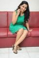 Actress Ishika Singh Hot Stills in Green Dress