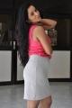 Actress Ishika Singh Hot Photos In Pink Top & Light Grey Skirt