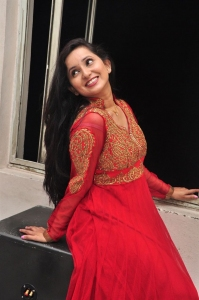 Telugu Actress Ishika Singh Pics @ Kobbari Matta Opening