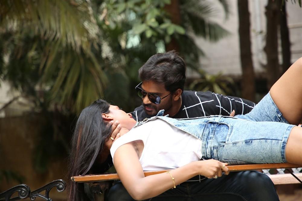 Sai Srivi, Yuga Yugesh in Ishq is Risk Movie Stills