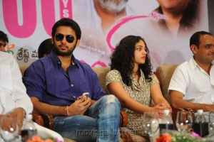 Nithin, Nithya Menon at Ishq Movie 100 Days Function Stills