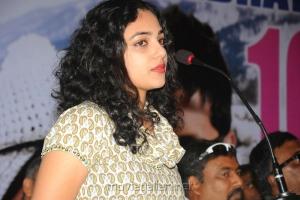 Nithya Menon at Ishq Movie 100 Days Function Stills