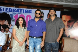 Prabhas, Nithin, Nithya Menon at Ishq Movie 100 Days Function Stills