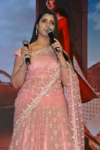 Anchor Shyamala @ ISHQ Movie Pre Release Event Stills