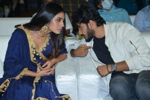 Priya Prakash Varrier, Teja Sajja @ ISHQ Movie Pre Release Event Stills