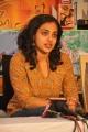 Actress Nithya Menon at Ishq Success Meet Stills