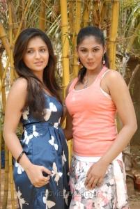Sarayu & Shruti Reddy at ISJ films Press Meet Stills