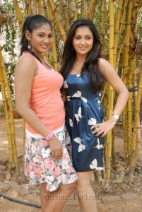 Shruti Reddy & Sarayu at ISJ films Press Meet Stills