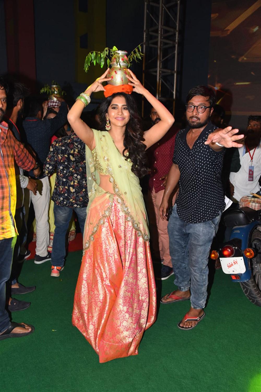 Actress Nabha Natesh @ Ismart Shankar Audio Launch Stills