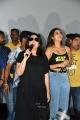 Charmi, Nidhi Agarwal @ iSmart Shankar Success Tour @ Anand Cine Complex Kurnool Photos