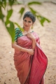 Actress Iswarya Menon Saree Photoshoot Pictures HD