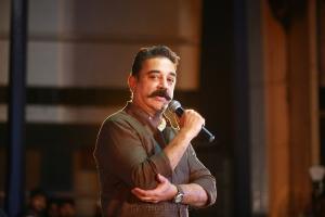 Kamal Haasan @ Makkal Needhi Maiam Ithu Nammavar Padai Songs Launch Stills
