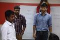 Kannan, RJ Balaji, Gautham Karthik @ Ivan Thanthiran Shooting Spot Stills